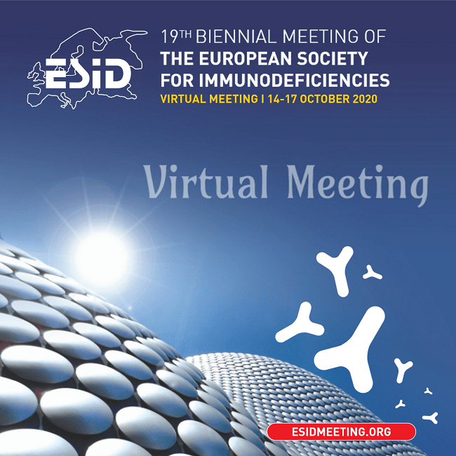 ESID2020, 14-17 OCT 2020, VIRTUAL MEETING