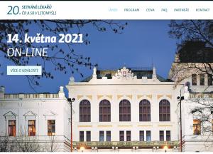 XX. SETKÁNÍ LÉKAŘŮ ČR A SR V LITOMYŠLI; 14. 5. 2021 ONLINE